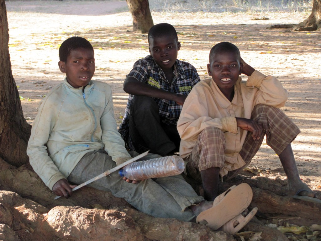 niños mozambique
