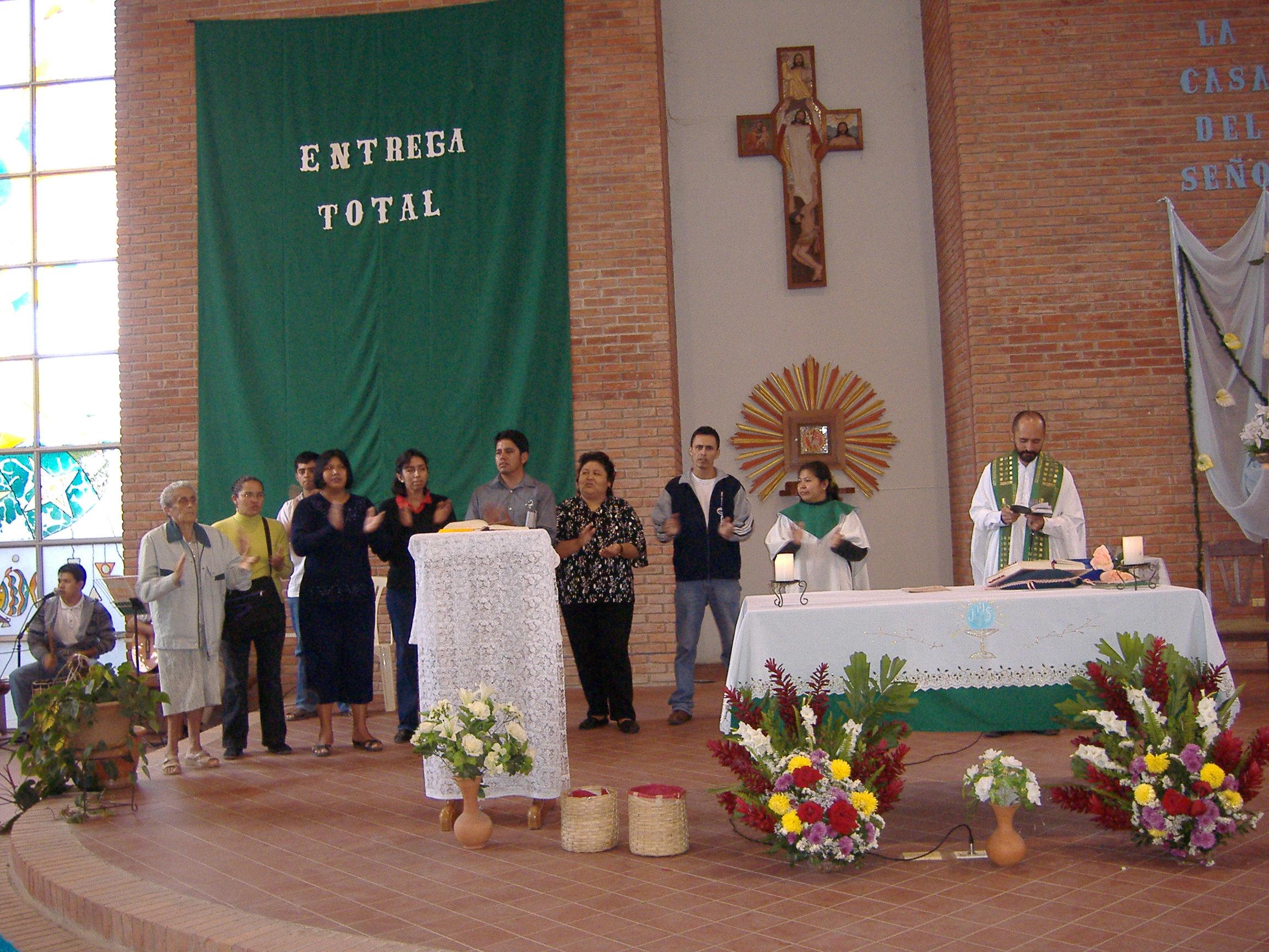 TITULO: PROYECTO CAPILLA – CONTINUACIÓN