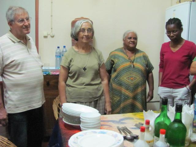Celebrando con los padres Pasionistas