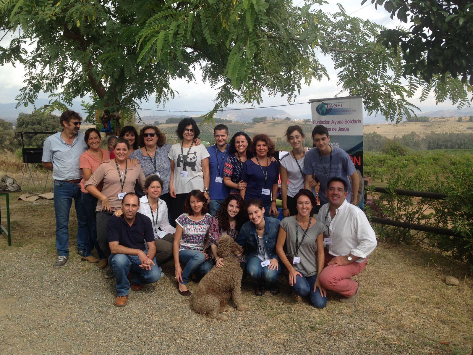 V Almuerzo Solidario organizado por la Delegación de FASFI en Andalucía