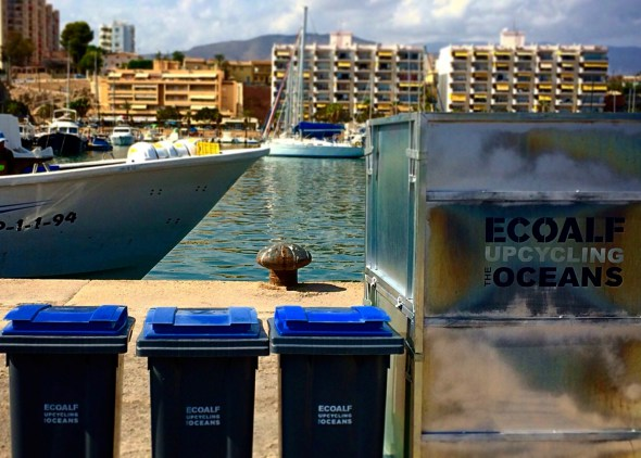 160 barcos pesqueros sacan basura del Mediterráneo para convertirla en ropa