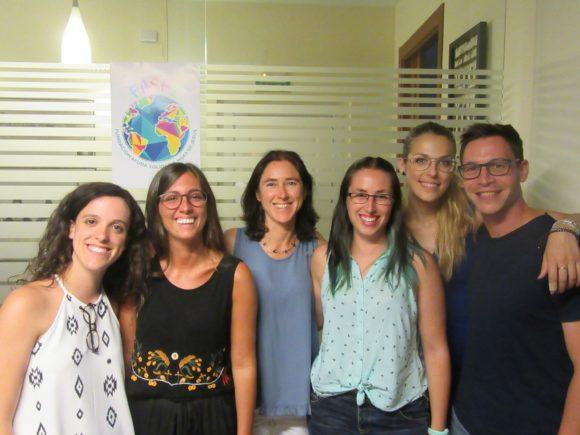 Envío voluntari@s de la Delegación de Málaga y Cataluña