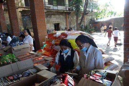 FASFI colabora con los evacuados por la erupción del volcán Taal en Filipinas
