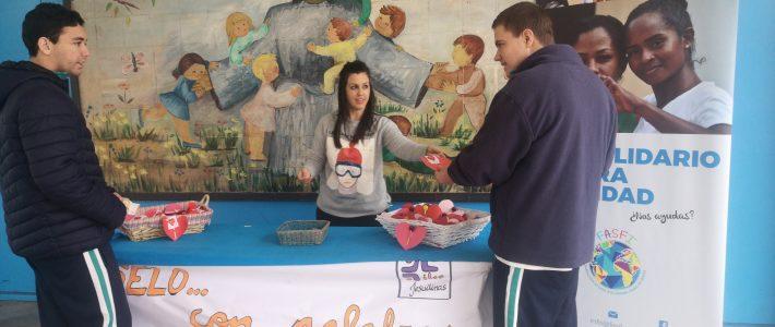 El colegio Juan Nepomuceno Rojas celebra San Valentín colaborando con FASFI